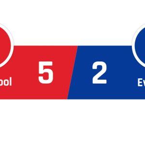 Liverpool - Everton 5-2
