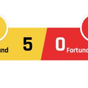 Dortmund - Fortuna Düsseldorf 5-0