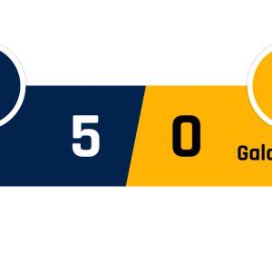 PSG - Galatasaray 5-0