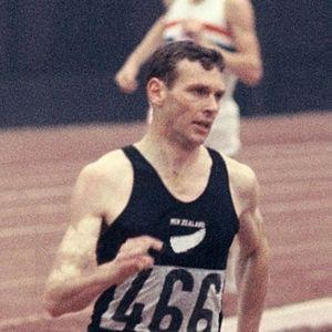 Peter Snell juoksee vuonna 1964.
