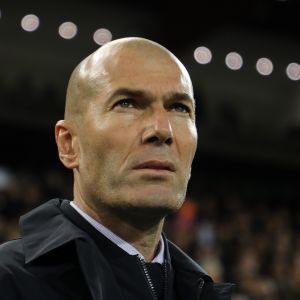 Zinedine Zidane lähikuvassa.