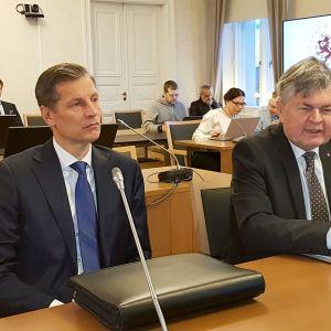 Sampo Eskelinen ja Heikki Maunila.