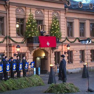 Joulurauhan julistus Turussa vuonna 2016.