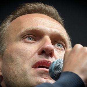 Oppositiojohtaja Aleksei Navalnyi kuvattuna Moskovassa 29. syyskuuta.