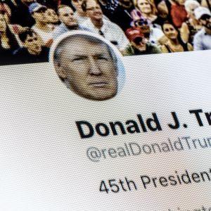 Kuvituskuva. Järjestelmäkatkos esti presidentti Donald Trumpin uudelleentviittausta näkymästä Twitterissä viikonloppuna.