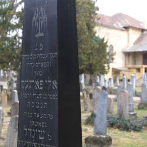 Kuvituskuva. Juutalainen hautausmaa Pécsissä, Unkarissa.