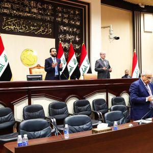 Irakin parlamentin istunnossa pidettiin rukoushetki Yhdysvaltain ilmaiskussa kuolleiden Qassem Suleimanin ja Abu Mahdi al-Muhandisin puolesta.