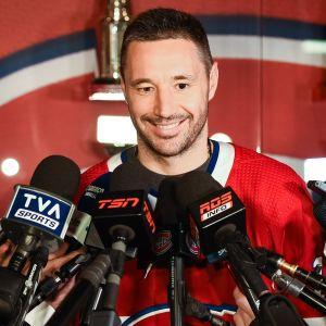 Ilja Kovaltshuk Montreal-paidassa.
