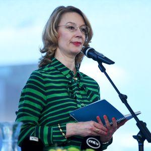 Eurooppa- ja omistajaohjausministeri Tytti Tuppurainen
