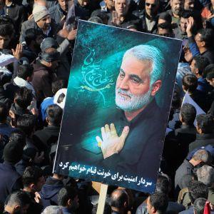 Iran Qasem Suleiman hautajaiset