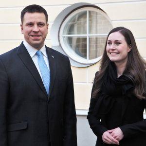 Sanna Marin ja Juri Ratas.