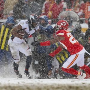 Denver Broncos vs Kansas City Chiefs 15. joulukuuta 2019 nfl
