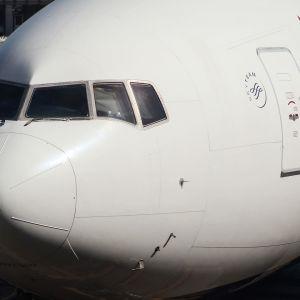 Delta Airlines -yhtiön kone kuvattuna Los Angelesin kansainvälisellä lentokentällä 29. lokakuuta 2019, (arkistokuva).