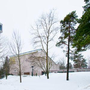 Munkkivuoren kirkko on valmistunut vuonna 1963.