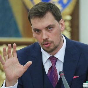 Ukrainan pääministeri Oleksiy Hontšaruk