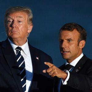Trump ja Macron