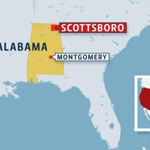 Alabaman kartta