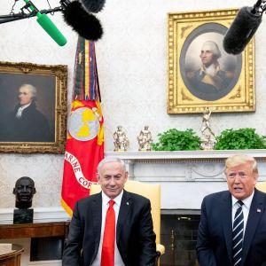 Donald Trump ja Benjamin Netanjahu