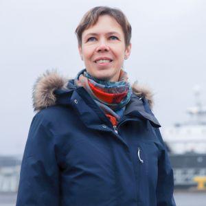 Mareena Viljanen on työskennellyt merillä 20 vuotta.