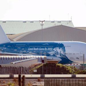 Wuhanista avustettujen suomalaisten uskotaan olleen tässä koneessa joka saapui Istresin lentotukikohtaan sunnuntaina.
