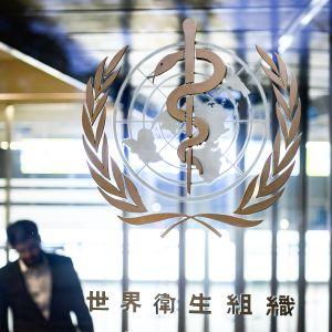 YK:n alainen Maailman terveysjärjestö WHO.