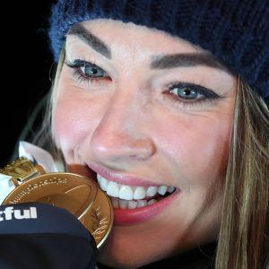 Dorothea Wierer, MM-kultaa Anterselvan takaa-ajosta 2020