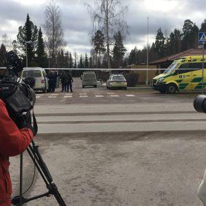 Piiritystilanne Lahden Patomäessä 19.2.2020