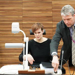 Aluesyyttäjä Mari Mattila, valtionsyyttäjä Mikko Männikkö