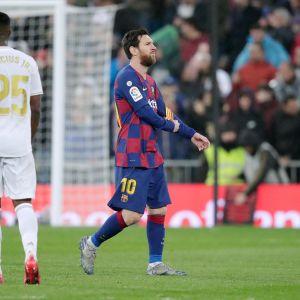 Lionel Messi pettyi El Clasicossa