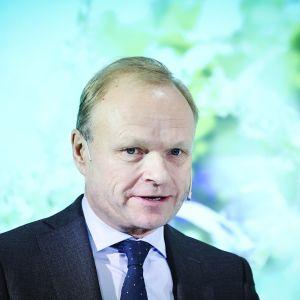 Toimitusjohtaja Pekka Lundmark.