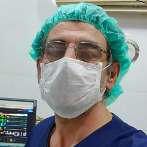 Syyrialainen lääkäri Sameeh Qaddour