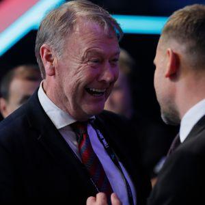 Åge Hareide on Tanskassa pidetty valmentaja.