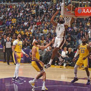 Staples Center, NBA-ottelu LA Lakers-Brooklyn Nets