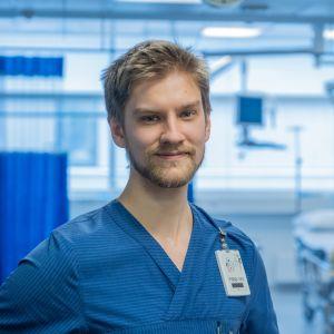 Tyksin sairaanhoitaja Zacharias Granqvist.