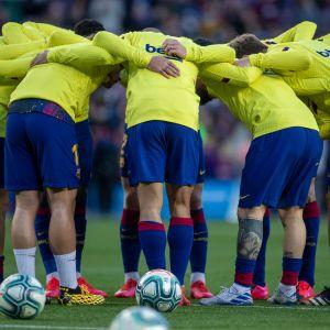FC Barcelonan pelaajia