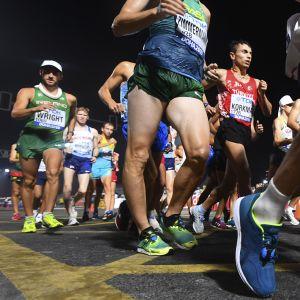 Miesten 20 kilometrin kävely Dohassa
