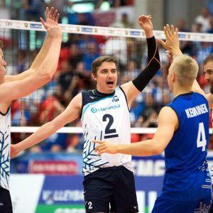 Suomen miesten lentopallomaajoukkue