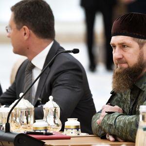 Tšetšeniaa johtava Ramzan Kadyrov.