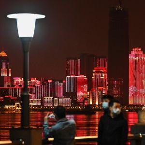 Wuhanin kaupunki.