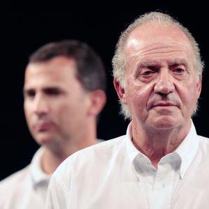 Kuvassa ovat Juan Carlos ja Felipe.