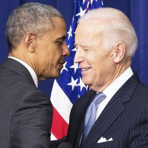 Presidentti Barack Obama ja varapresidentti Joe Biden vuonna 2016.