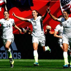 Yhdysvaltain naisten jalkapallomaajoukkue