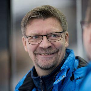 Jukka Jalonen U20-harjoituspelissä vuonna 2015