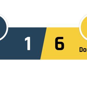 Paderborn - Dortmund 1-6