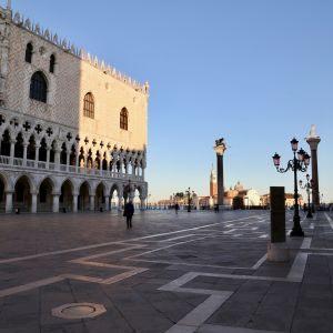 Aukio venetsiassa.