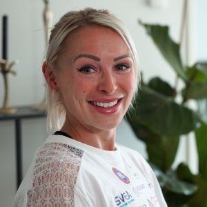 Annimari Korte kotonaan Helsingissä