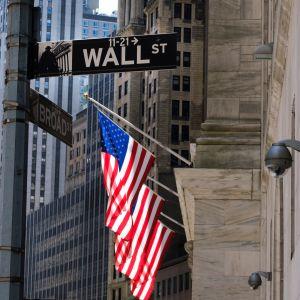 Wall Streetin kyltti New Yorkissa.