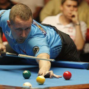 Mika Immonen yksi poolbiljardin historian menestyneimmistä pelaajista.