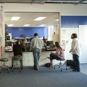 Facebookin toimisto Menlo Parkissa, Kaliforniassa.