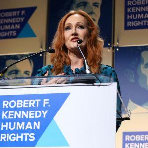 Kirjailija J. K. Rowling viime vuonna otetussa kuvassa.